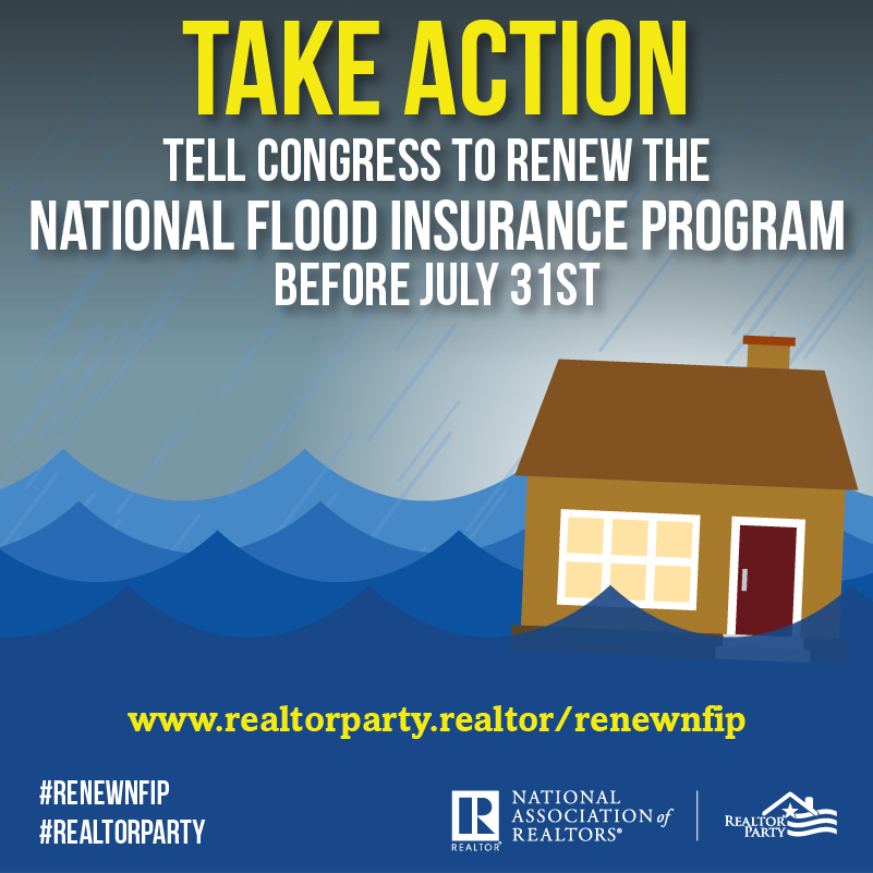 Call for Action: Reauthorize the National Flood Insurance Program (NFIP)